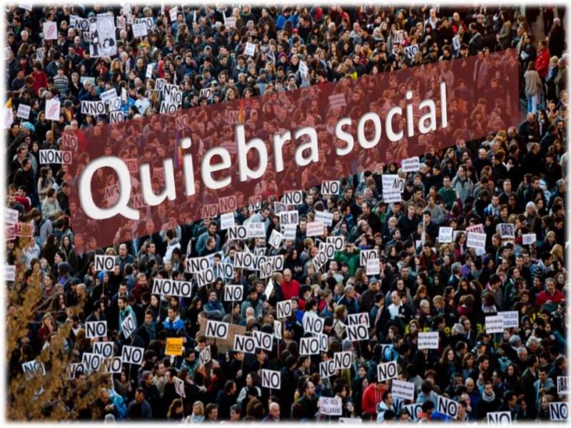 quiebra social
